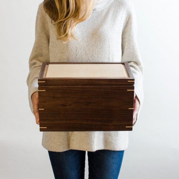 anniversary wood box