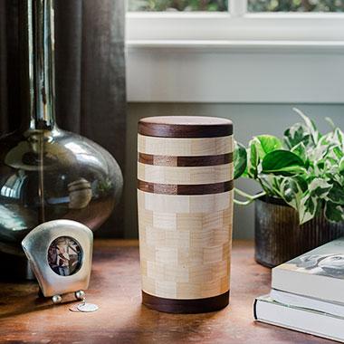 large_wooden_cylinder_pet_urn
