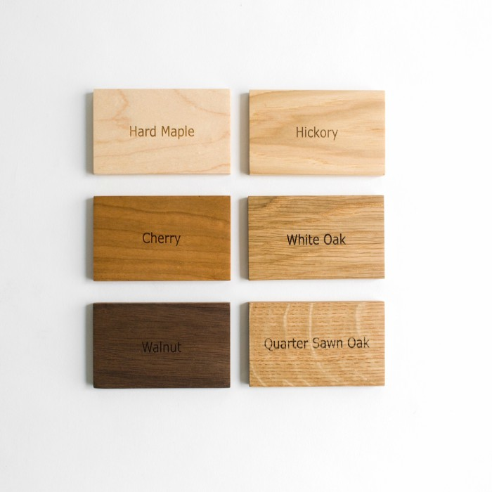 Our Wood Samples