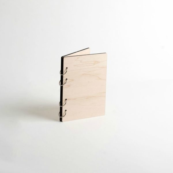 Hard Maple Wooden Journal - Personalized