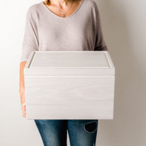 Large White Memory Box
