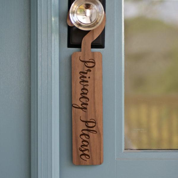 Privacy Please Door Hanger