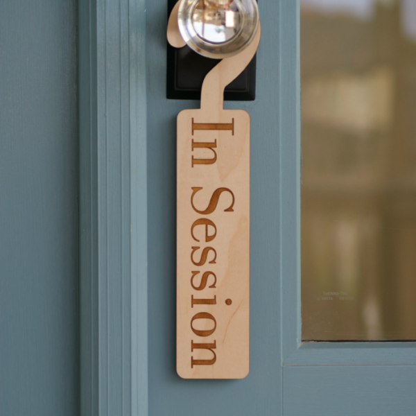 In Session Sign