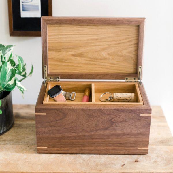 oak memory box
