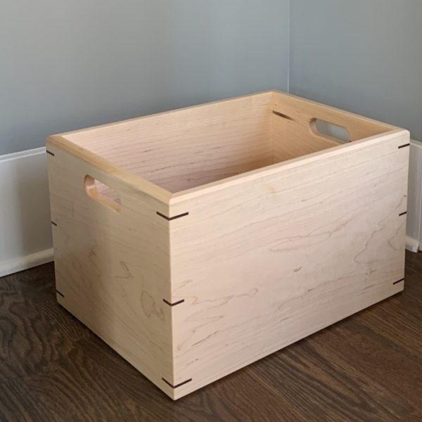 Wooden Dog Toy Box