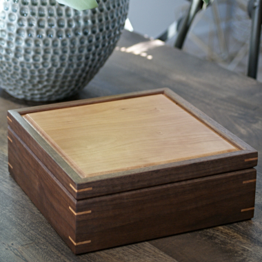 anniversary wood box