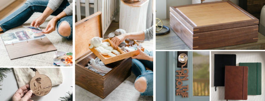 The 12 Days of Giftmas – Custom, Personalized Woodcrafts Ideas
