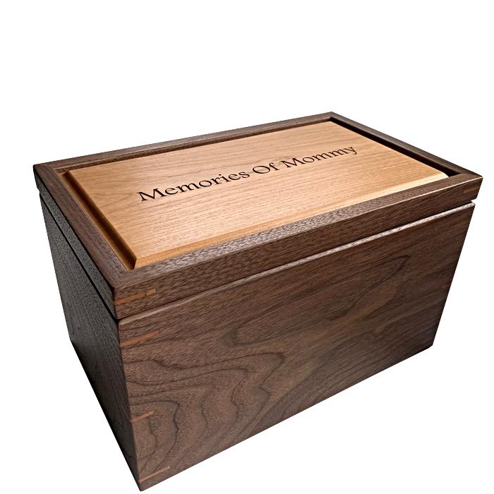 Large Keepsake Memory Box – Engraved