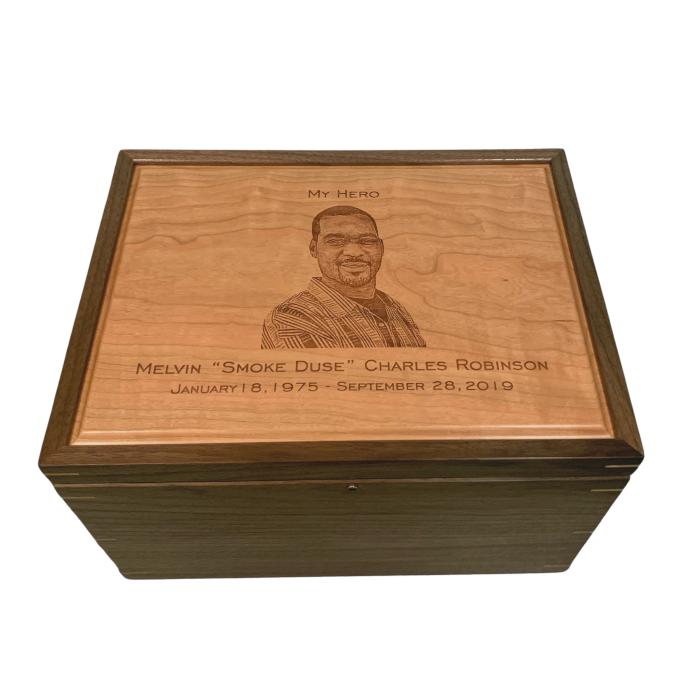 Legacy Extra Large Memorial Keepsake Box- Engraved